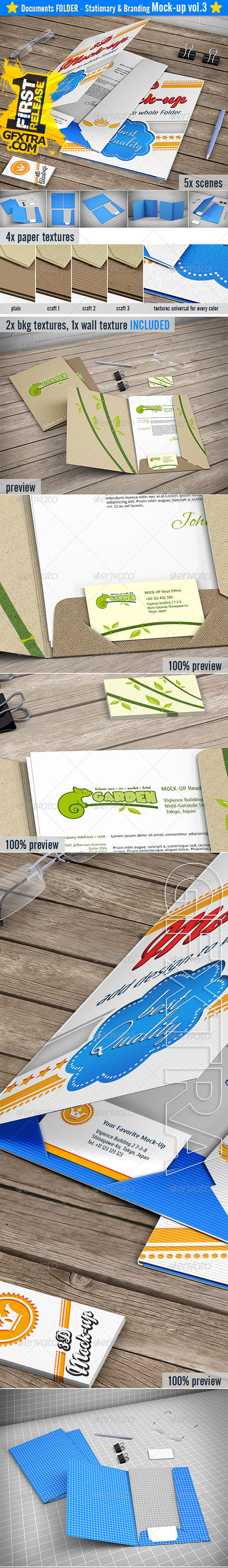 Graphicriver - Stationery / Branding Mock-up 8522228