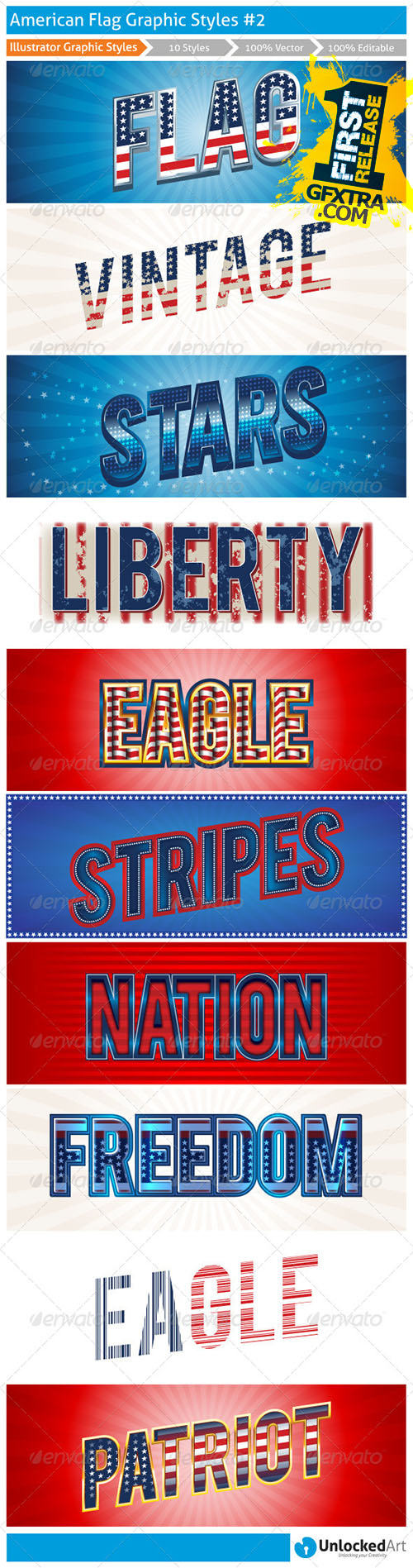 Graphicriver - American Graphic Styles 2 8127970