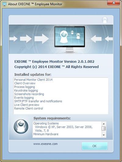 ExeOne Employee Monitor 2014 2.0.1.002