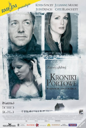 Kroniki portowe / The Shipping News (2001) PL.PAL.DVD9-NN |Lektor PL