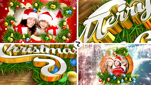 Merry Christmas Videohive - Free Download After Effects Template 1920x1080