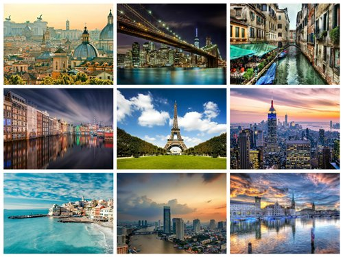 150 Amazing Cityscapes HD Wallpapers (Set 25)