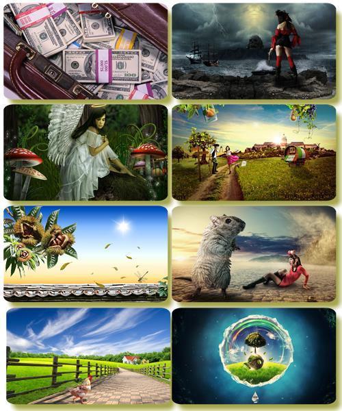 Сборник креативных обоев - Art картинки (часть 47)