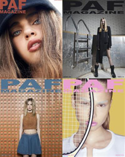 PAF Magazine 2015 Full Year Collection