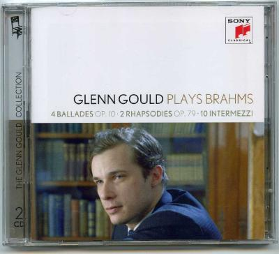 Glenn Gould (piano) - GLENN GOULD PLAYS BRAHMS (4 ballades OP.10, 2 Rhapsodies OP.79, 10 Intermezzi), 2CD / 2012 Sony Music Entertainment