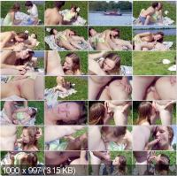 MyTeenVideo - Vally - Hot Teen Gets Serious Hardcore Action By The Lake [HD 720p]