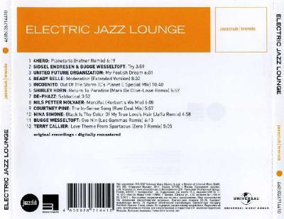 Electric Jazz Lounge (Zero 7, De-Phazz, 4Hero, United Future Organization & Others) / 2014 Юниверсал Мьюзик
