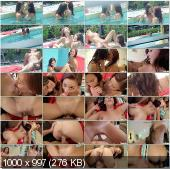 PervsOnPatrol - Elizabeth Fox, Kiarra Wolfe - My Girl, Her Friend, And Me [HD 720p]