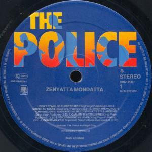 The Police - Zenyatta Mondatta (1980)