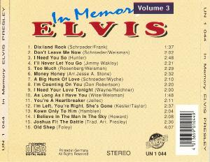 Elvis Presley - In Memory vol.3 & vol.4 (????)
