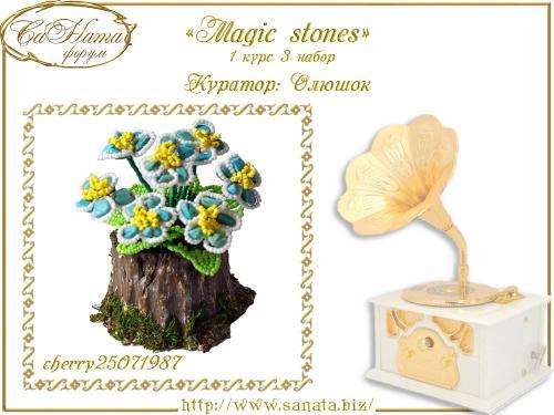"Лучшая работа Факультета ""Magic stones""  6c0f4b07a597e04a4a0fbbbcb3feca00"