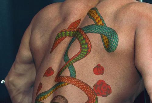 Cinema4dtutorial.net - 3d tattoo transformation