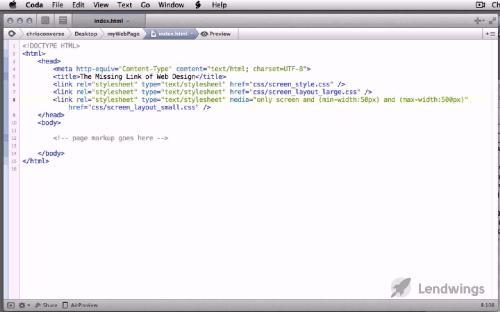 [LendWings] Современный веб-дизайн при помощи HTML и CSS