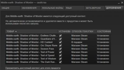 Middle-earth: Shadow of Mordor Premium Edition + DLC (2014/Rus/Eng/PC) RePack by Чувак