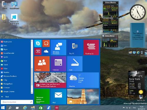 Windows 10x86x64 Technical Preview v.1.01
