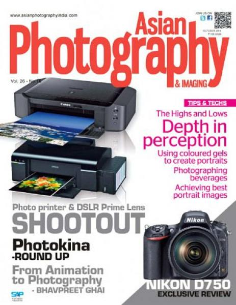 Asian Photography – October 2014