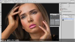 Видео курс Быстрая ретушь + Retouch Panel для Photoshop CC_CC2014 - Евгений Карташов