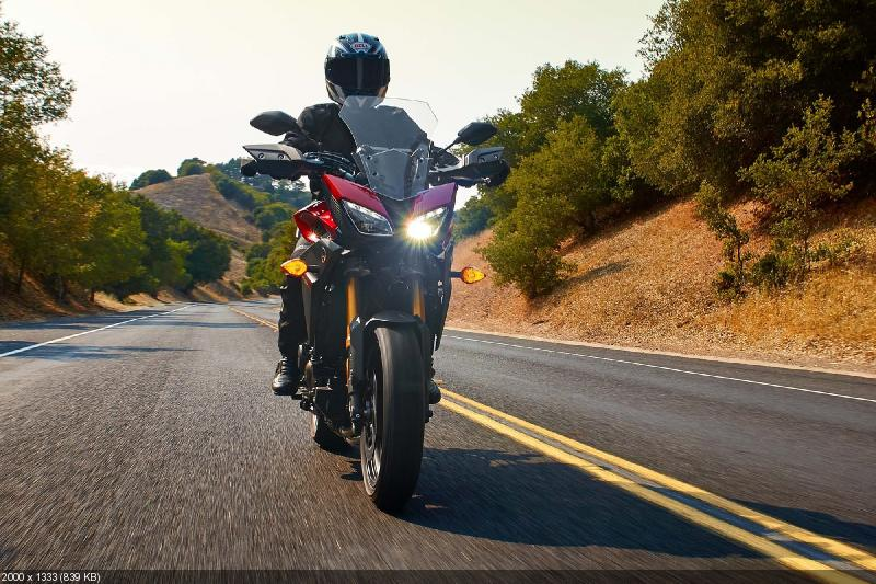 Новый мотоцикл  Yamaha MT-09 Tracer 2015