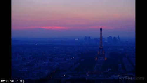 Lynda.com Путешествие Фотографа в Париж