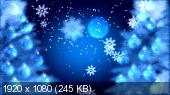 Футажи - В Рождественскую ночь (2014)