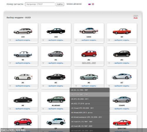 PHP модуль магазина авто-запчастей (TecDoc)