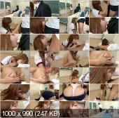 SchoolGirlsHD - Sana Anzyu - Busty Teen Gives A Great Blowjob And Tit Fucking [FullHD 1080p]