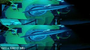 Вызов бездне 3D  / Deepsea Challenge 3D (Лицензия by Ash61) Вертикальная анаморфная стереопара