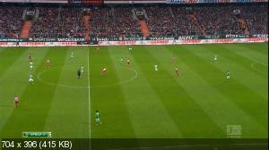 Футбол. Чемпионат Германии 2014-15. 25-й тур. Вердер — Бавария [14.03] (2015) HDTVRip