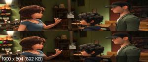 Город героев / Big Hero 6 (2014) BDRip 1080p 3D HOU