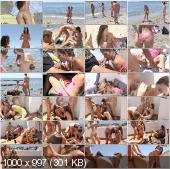 CollegeFuckParties - Agnessa, Carla, Leila - Real Sex Party On The Sunny Beach Part 3 [HD 720p]
