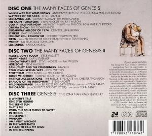 VA - The Many Faces Of Genesis (3CD) (2015)