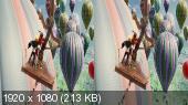 Best of 3D. Kids / Подборка вылетов в 3Д Горизонтальная анаморфная
