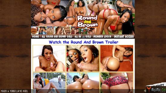 Round And Brown Website