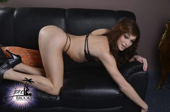 Tiny Lingerie  Black Couch