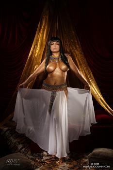 e12-18 Cleopatra White Slip AriaGiovanni.com