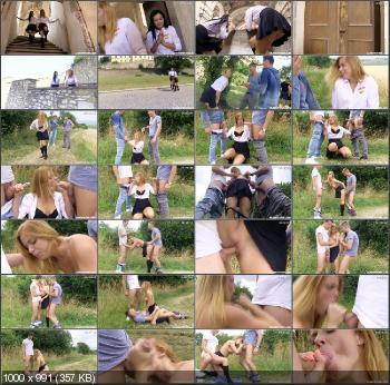 Chrissy Fox, Keira - Catholic Schoolgirls Escape From The Monastery Part 1 [ClubSevenTeen] (FullHD 1080p|MP4|1.73 GB|2015)